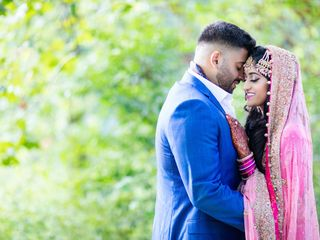 The wedding of Fatima and Nabeel 1