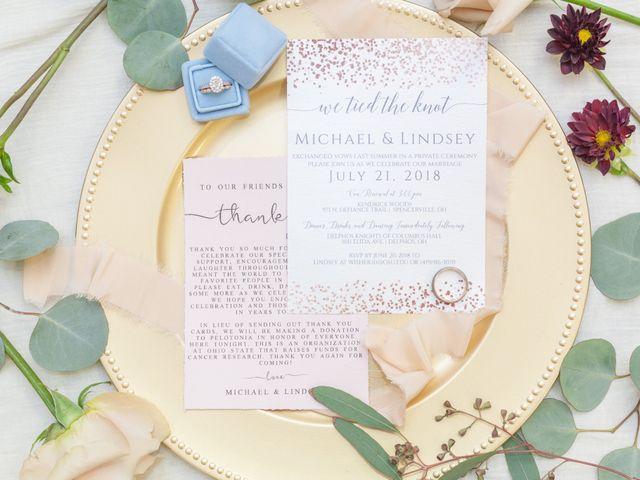 Michael and Lindsey's Wedding in Delphos, Ohio 6