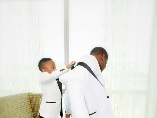 Shauda and Jason's Wedding in Hollywood, Florida 4