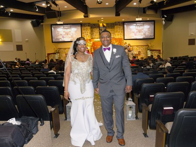 The wedding of Deante and Kanisha