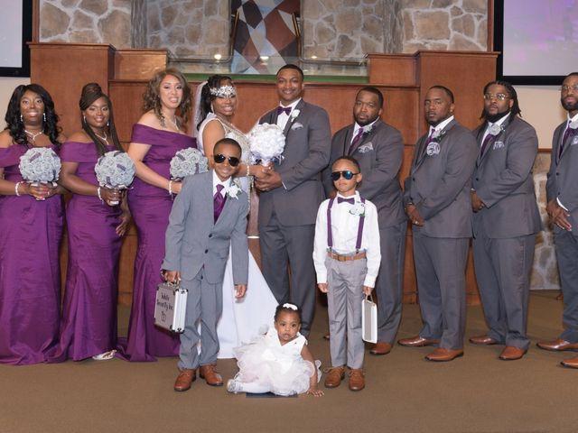 Kanisha and Deante's Wedding in Houston, Texas 1