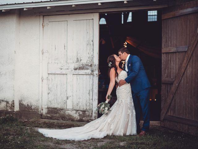 The wedding of Lindsey Waldock and TJ Waldock