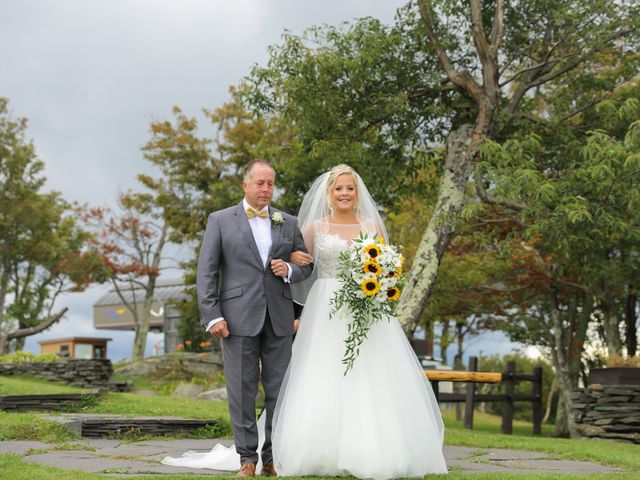 Mavist and Alli's Wedding in Hunter, New York 6