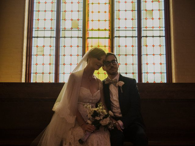 The wedding of Morgan and Patrick