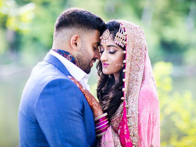 The wedding of Fatima and Nabeel