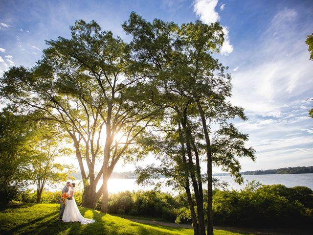 The wedding of Beth Ann and Joe