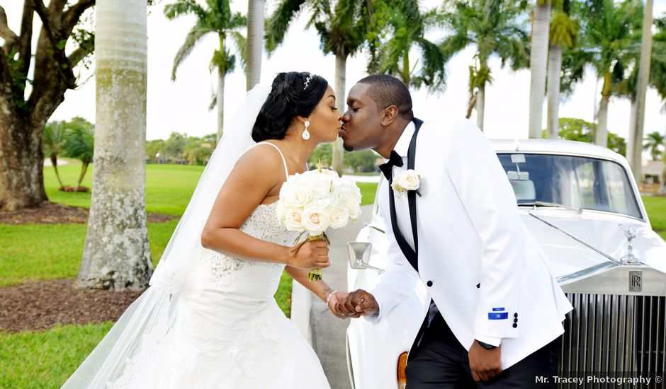 Shauda and Jason's Wedding in Hollywood, Florida