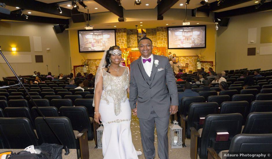 Kanisha and Deante's Wedding in Houston, Texas