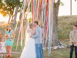 Brylie and Logan's Wedding in Junction, Texas 12
