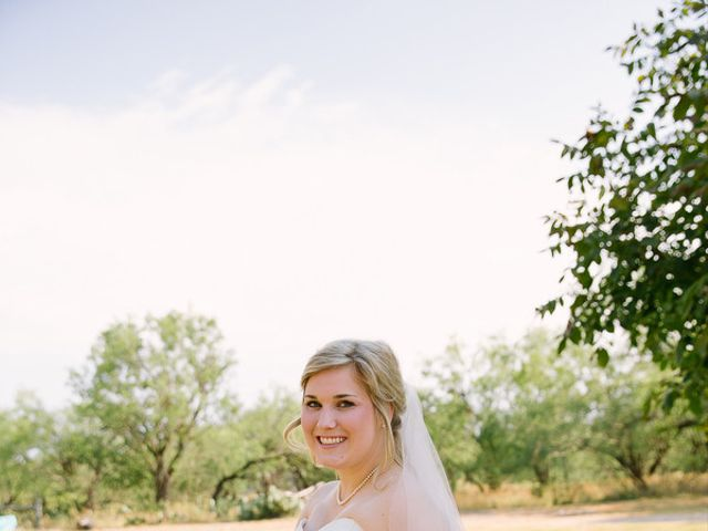 Brylie and Logan's Wedding in Junction, Texas 1
