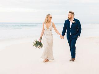 The wedding of Alan and Rachel
