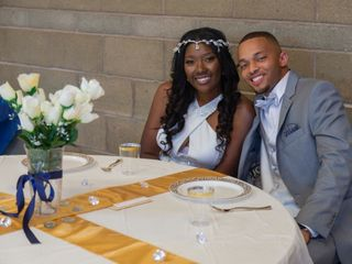 The wedding of Taliea and Khalil