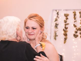 The wedding of Kathy and David 1