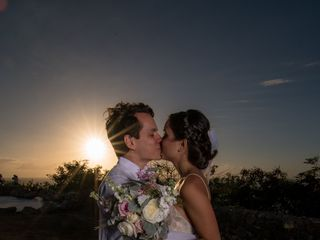 The wedding of Sara and Andres 3