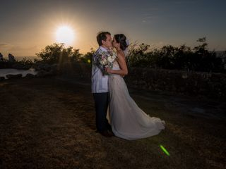 The wedding of Sara and Andres