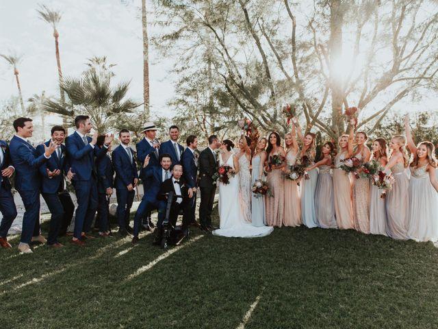 Shane and Ryann's Wedding in La Quinta, California 10