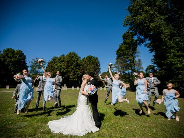 The wedding of Ashley and Kaleb