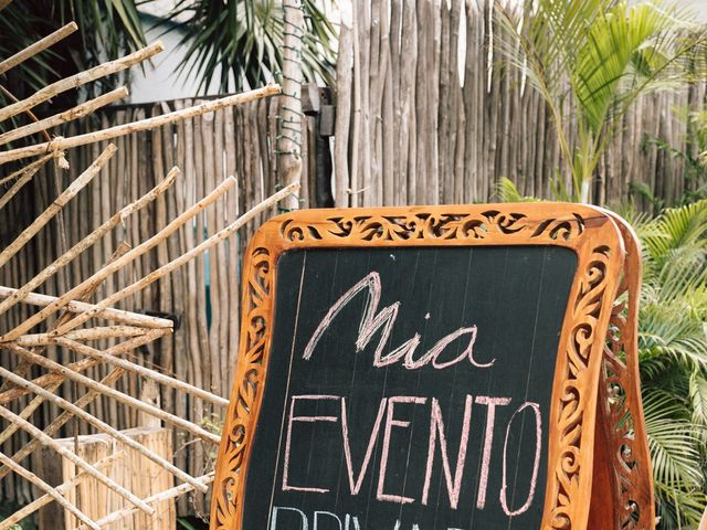 Rachel and Alan's Wedding in Tulum, Mexico 24