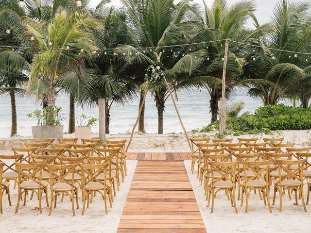 Rachel and Alan's Wedding in Tulum, Mexico 32