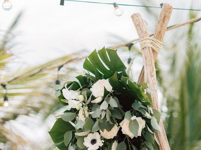 Rachel and Alan's Wedding in Tulum, Mexico 33