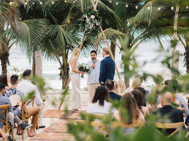 Rachel and Alan's Wedding in Tulum, Mexico 55