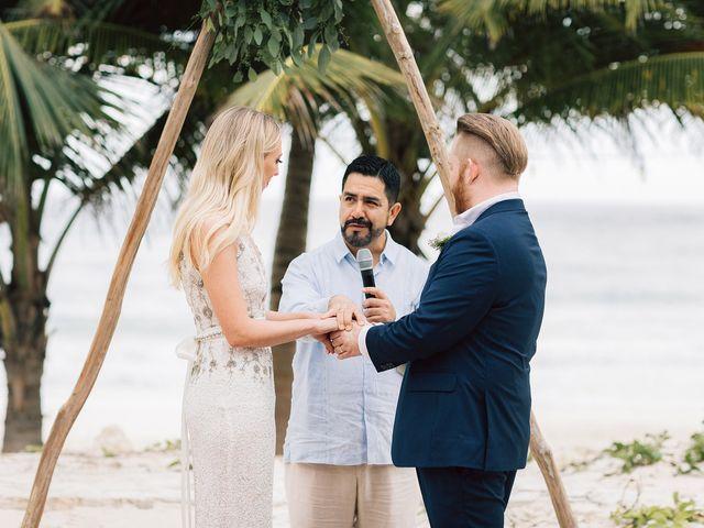 Rachel and Alan's Wedding in Tulum, Mexico 62