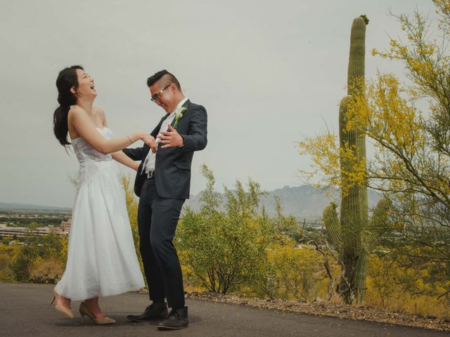 Kevin and Jina's Wedding in Tucson, Arizona 1