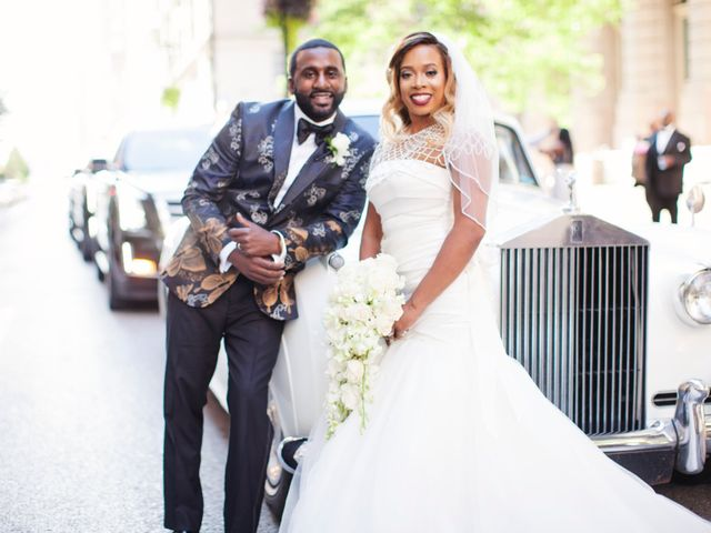 The wedding of Kenya and Joseph
