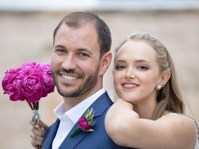 The wedding of Sophia and Jason