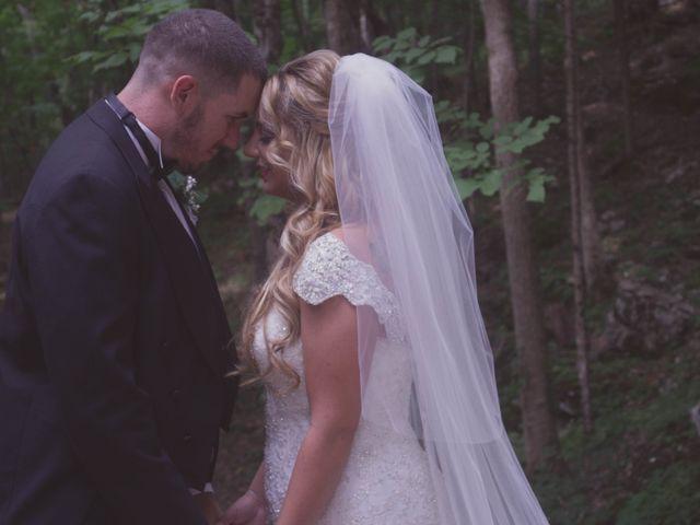 The wedding of Nick and Amanda
