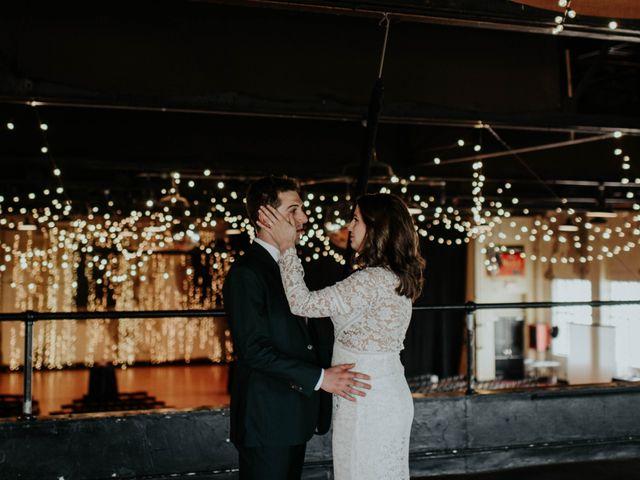 The wedding of Katie and Ben