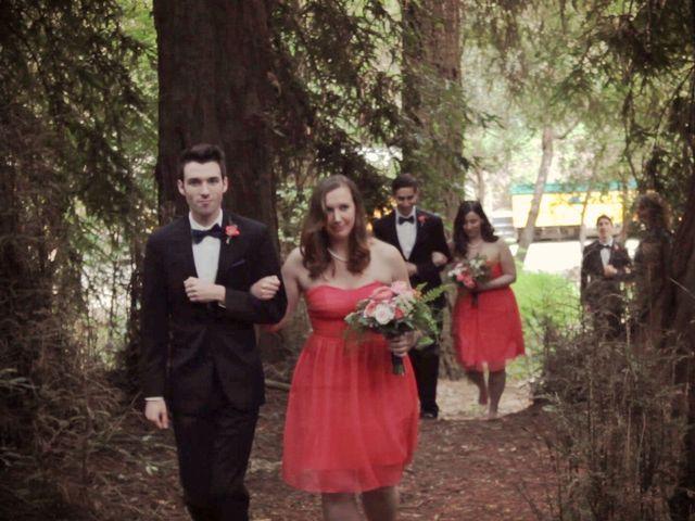 Ryan and Emily's Wedding in Felton, California 11