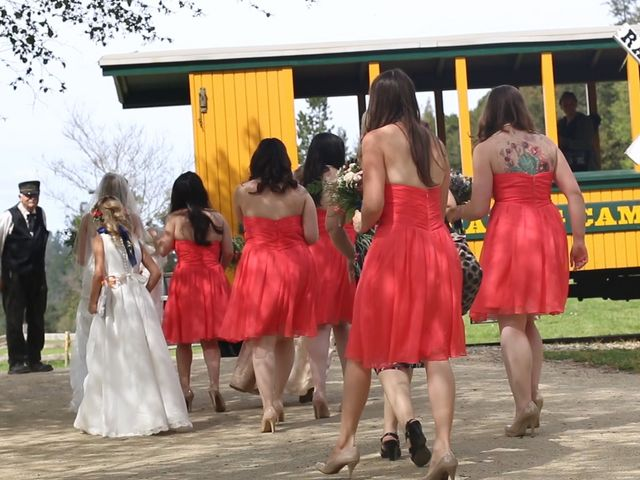 Ryan and Emily's Wedding in Felton, California 14