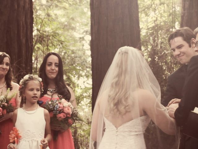 Ryan and Emily's Wedding in Felton, California 16