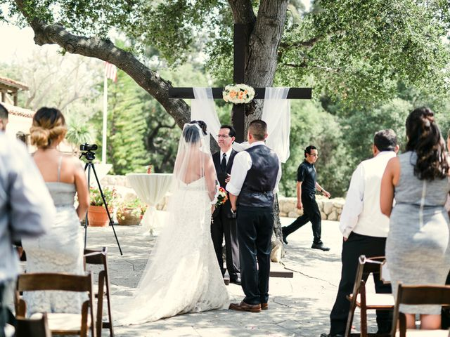 Jessica and Carlos's Wedding in Santa Barbara, California 9