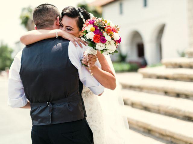 Jessica and Carlos's Wedding in Santa Barbara, California 4