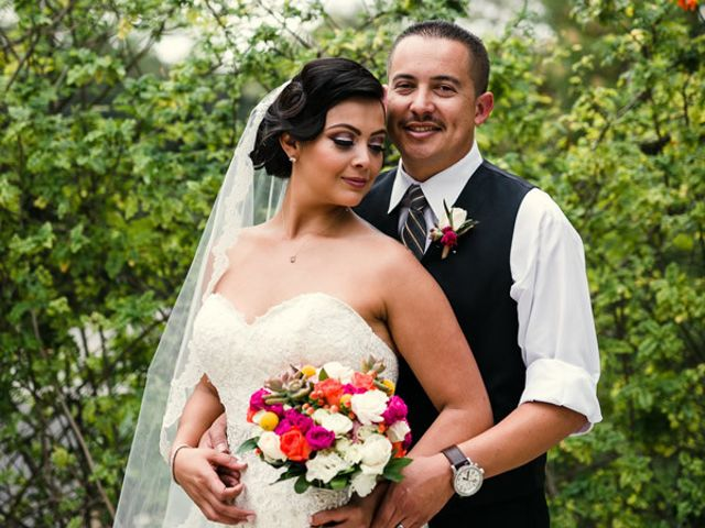 The wedding of Carlos and Jessica