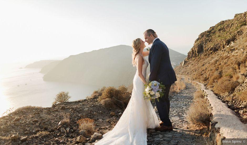 Rayan and Margot's Wedding in Santorini, Greece