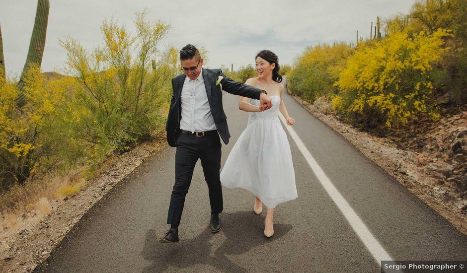 Kevin and Jina's Wedding in Tucson, Arizona