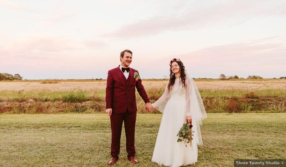 Trent and Delaney's Wedding in Lafayette, Louisiana