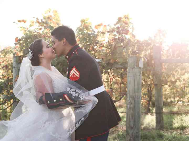 The wedding of Alexis and William