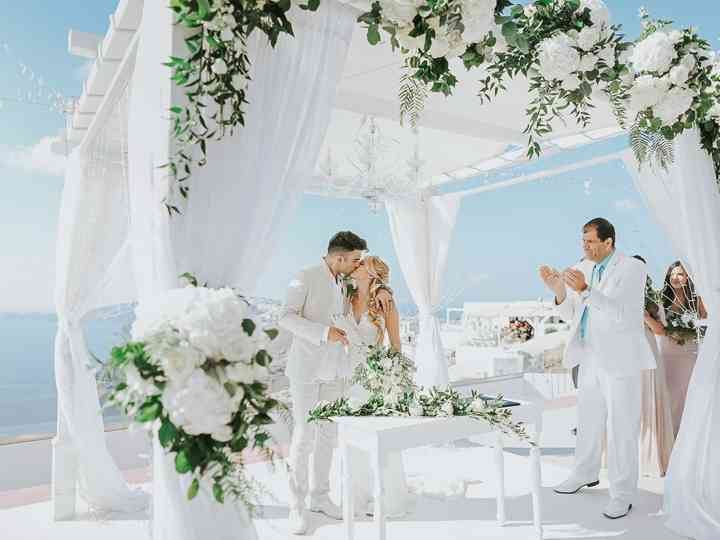 The wedding of Neenah and Ross