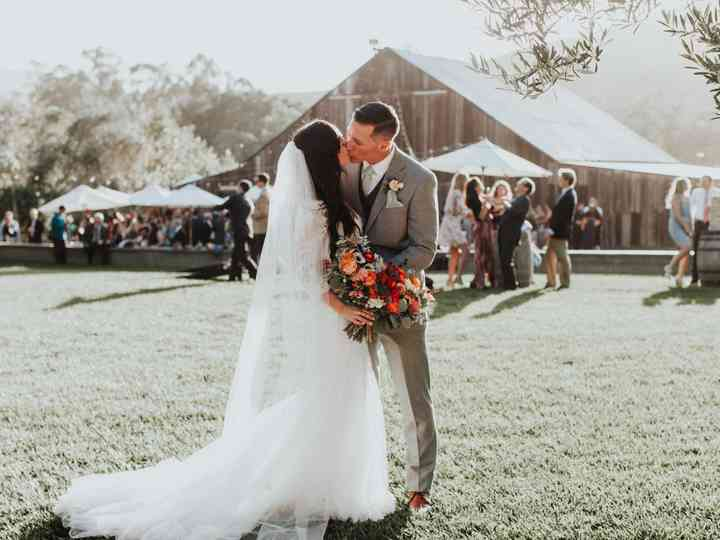 The wedding of Kristina and Tim