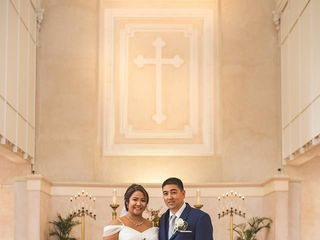 The wedding of Alma Lei and John 1