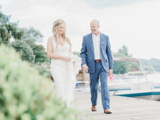 The wedding of Tara and John