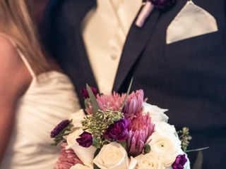 The wedding of David and Cindy 1