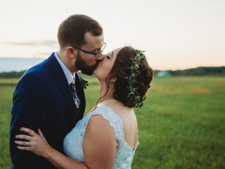 The wedding of Janelle and Chris