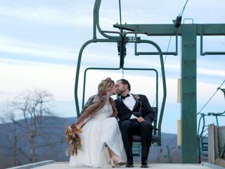 The wedding of Jess and Matt