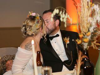 The wedding of Jess and Matt 1