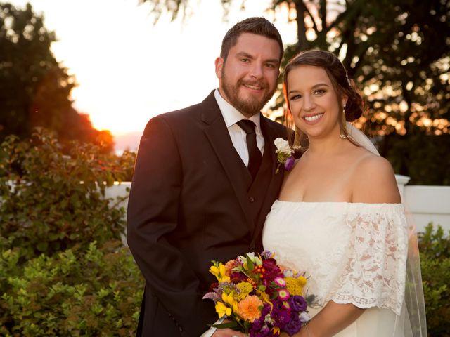 The wedding of Amanda and Thomas